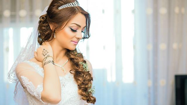 décoration cheveux mariage